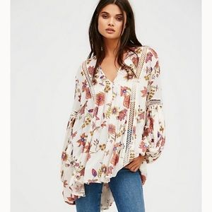"""Free People """"just the two of us"""" tunic"""